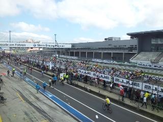 Radrennen auf dem Nürburgring