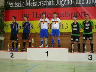 Ehrung Deutsche Meisterschaft im Junioren-Radball