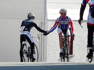 Radsportler im Mittelhessencup