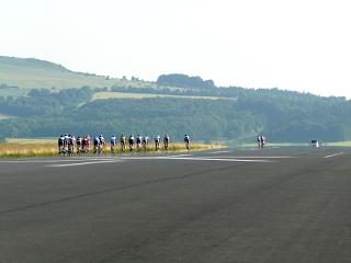 Radrennen auf dem alten Flughafen Kassel-Calden