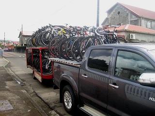 """Radtransfer bei der """"Tour de Martinique"""""""