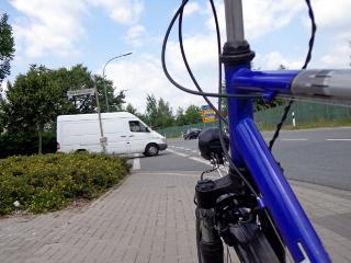 Radweg in Gießen
