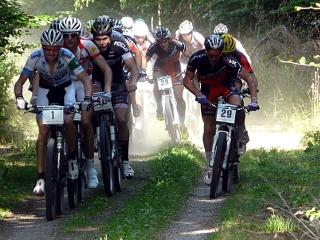 Mountainbikerennen in Rodheim