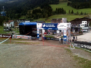 Downhill in Saalfelden Leogang