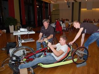 Handbike-Wettbewerb