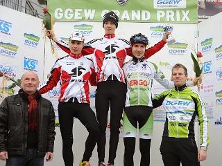 Junioren-Podium in Bensheim