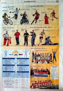 Sportlerwahl