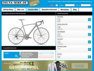 DELTA-BIKE Custom Bike Konfigurator