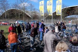 Fahrrad-Flohmarkt in Gießen