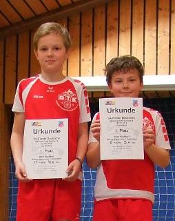 Niklas Habermann (links) und Justin Klein