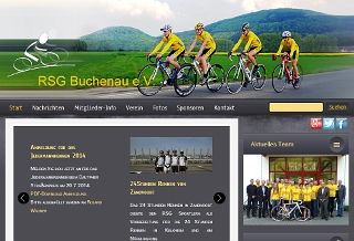 Internetseite der RSG Buchenau