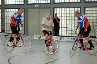 11. Alt-Herren-Radball-Turnier in Kleinlinden