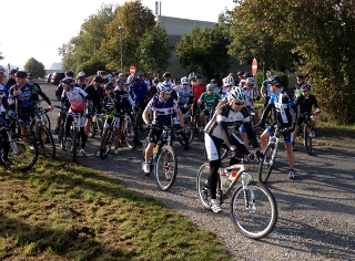 Streckentest Dünsberg Mountainbike Marathon