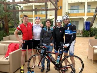 Gießener Radsportler auf Mallorca