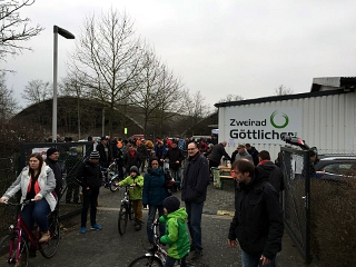 Fahrrad-Flohmarkt bei Zweirad Göttlicher