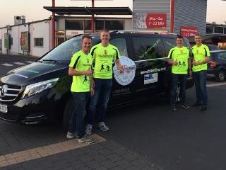 """Das Team von """"Kilometer gegen Krebs"""""""