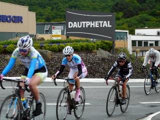 Radrennfahrer in Dautphe