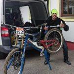 Schindler mit Downhillszene in Schladming