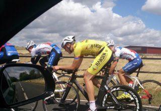 Training im Mannschaftszeitfahren