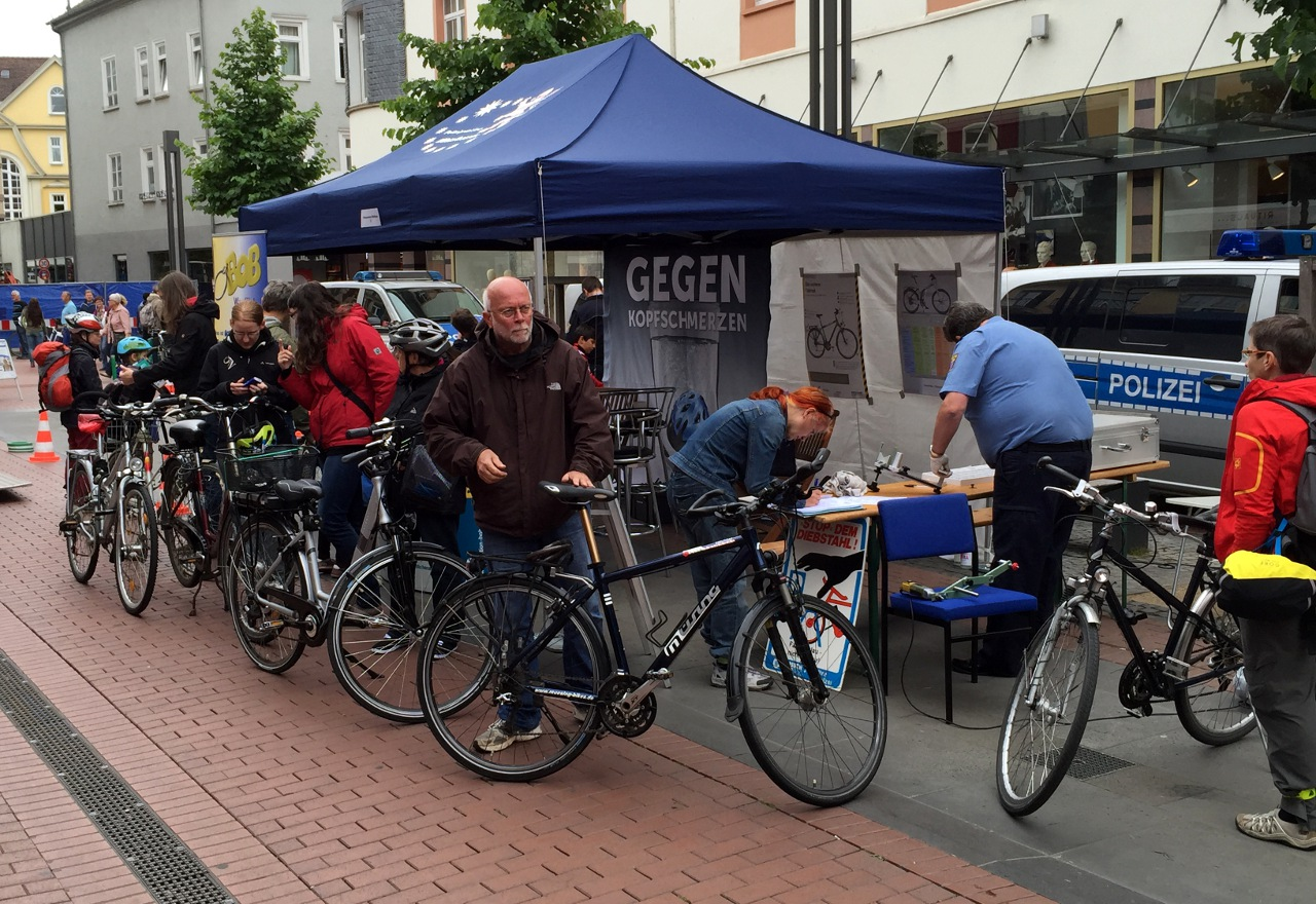 """Stadtradeln"" in Gießen"