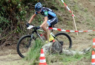 Mountainbike-Rennen in Biebertal
