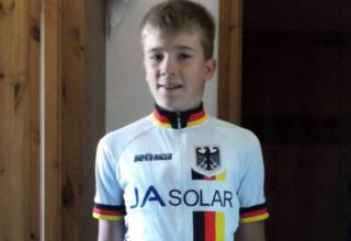 Thorben Jost im Nationaltrikot