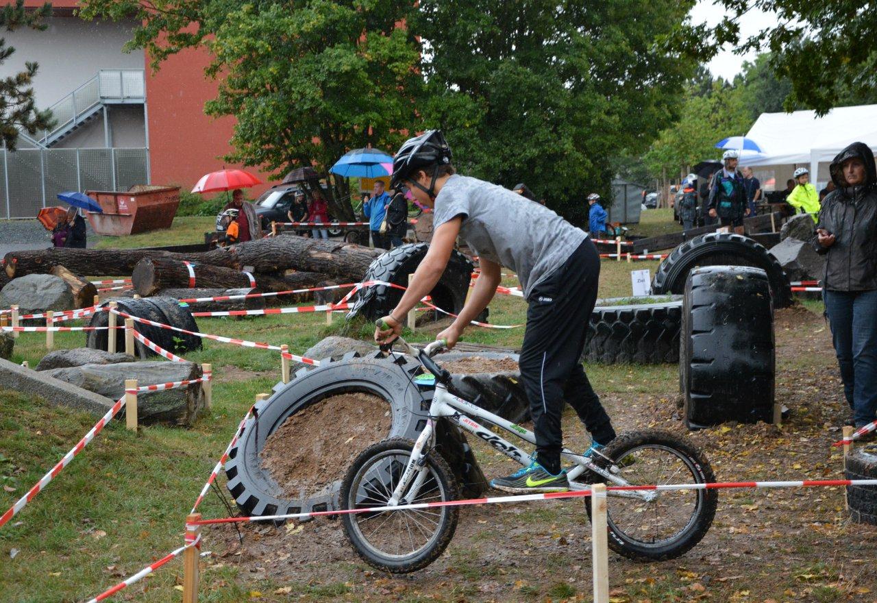 Fahrradtrial Hessencup in Kleinlinden