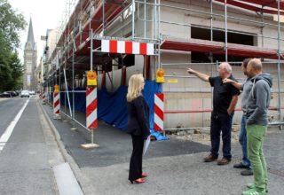 """Streckenbesichtigung bei """"Rund um das Stadttheater"""""""