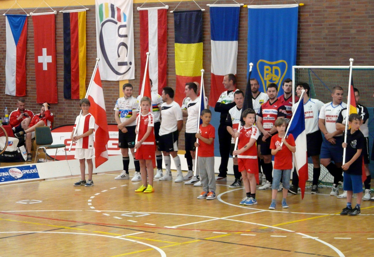 Radball-Weltcup 2014 in Krofdorf