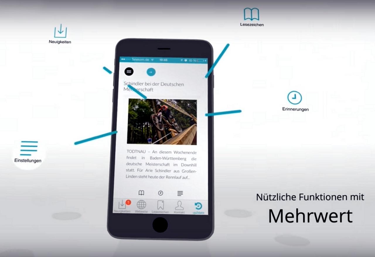 App von Radsportnachrichten.com aus Mittelhessen