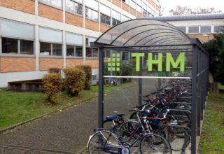 Fahrrad-Stellplätze an der THM