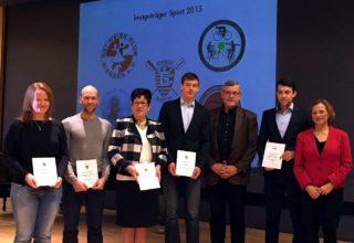 """""""Imageträger Sport"""" 2015 der Stadt Gießen"""