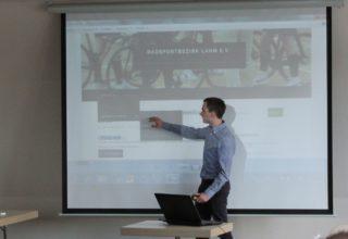 Marius Keppler und die Webseite des Radsportbezirk Lahn