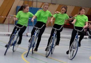 4er Kunstradsport des RSV Krofdorf-Gleiberg