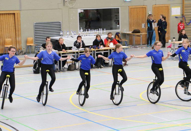 Kunstradsportler des RVG Hungen