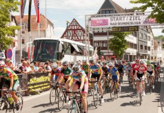 Radrennen in Nidda 2015