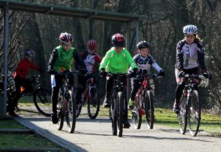 Nachwuchsfahrer im Radsportbezirk Lahn