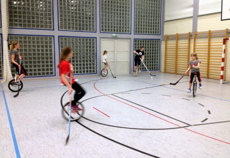 Einradhockey in Kleinlinden