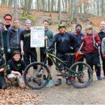 Mountainbikestrecke am Schiffenberg startklar