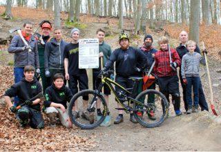 Mountainbikestrecke Schiffenberg