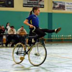 Hungener Kunstradsportler holen Hessen-Quali