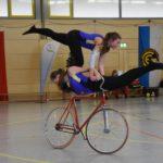 Freud und Leid für heimische Kunstradsportler