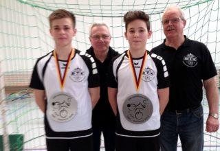 (von links) Dysli, Schmidt, Schubert, Laucht