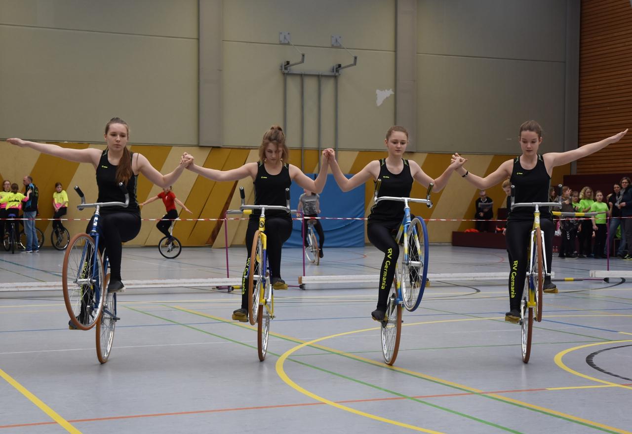 Kunstradsportler RVG Hungen