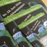 Rennplakat und Programm präsentiert