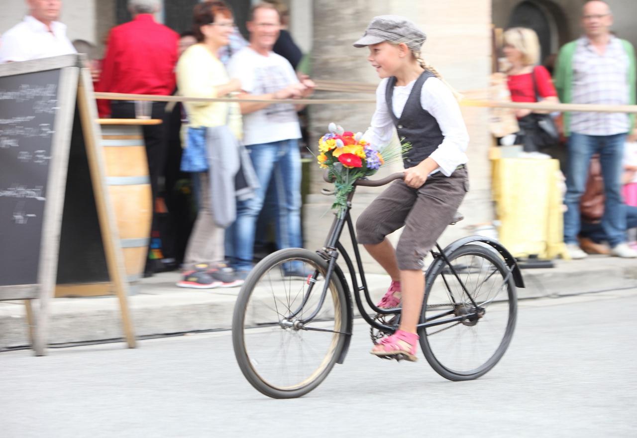 Historisches Radrennen