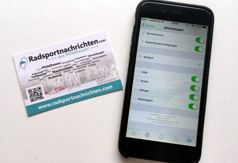 Radsportnachrichten.com-App