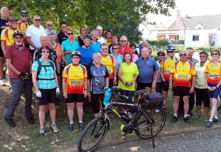 Tourenfahrer des RV Germania Hungen