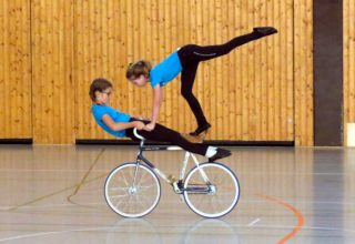 Kunstradsportler des RSV Krofdorf-Gleiberg