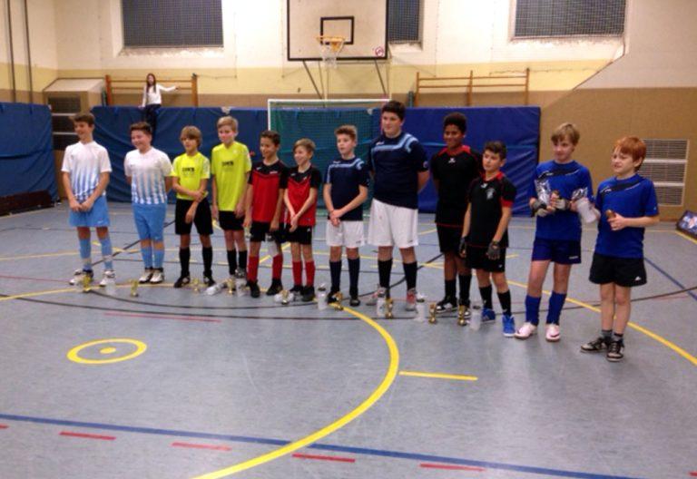 U15-Radballer in der Gruppe A